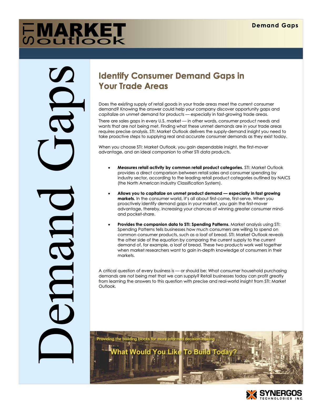 market outlook pdf