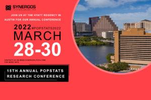 popstats conference announcement